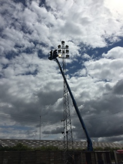 Sports Ground Lighting repairs and maintenance